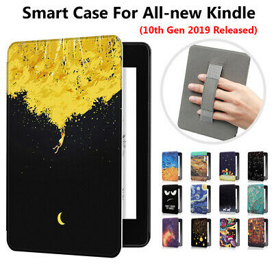 For Amazon All-new Kindle 10th Gen 2019 Magnetic Leather Case Slim Smart Cover