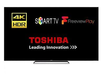 "Toshiba 43VL3A63DB 43"" Smart LED TV Wi-Fi 4K Ultra HD HDR Freeview Play HDMI"