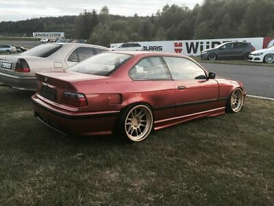 BMW E36 Coupe 3Series Rear Felony Form Replica Overfenders Wide Body Kit Flares