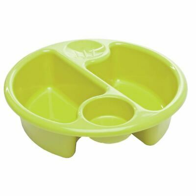 Neat Nursery Company CIRCULAR TOP 'N' TAIL BOWL - LIME Baby Bathtime - NEW