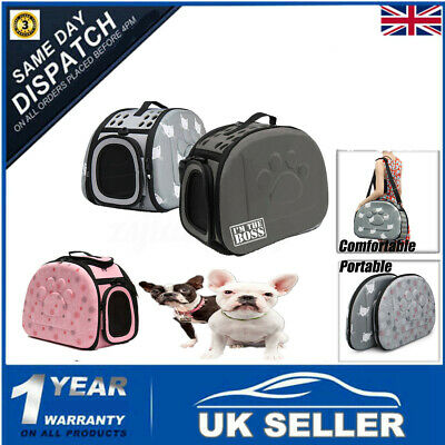 Pet Dog Cat Rabbit Portable Travel Carrier Tote Cage Sac Sac Crate Kennel Bag Ho