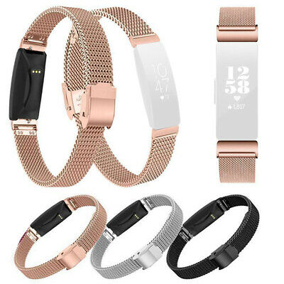 For Fitbit Inspire HR Watch Replacement Strap Milanese Stainless Magnetic Band