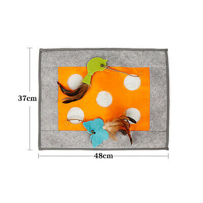 Cat Toy Blanket Sleep Blanket Cat Ball Tunnel Toy Play Mat Cat Product LC