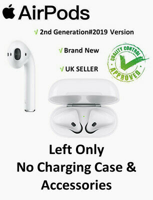 Apple AirPods 2nd Gen Left Only Replacement Bluetooth Wireless Headset UK STOCK