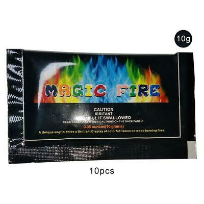 10PC Ultimate Flames Flame Coloring Agent Campfire Bonfire Carnival Party
