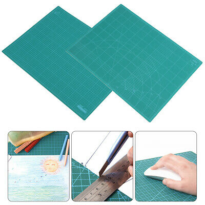 A2 Thick 5-Ply Self-Healing Craft Cutting Mat Double Side Print Scrapbooking New