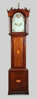 STANDUHR ANTIK HUGH KNIGHT STONE ENGLAND 243cm PROMINENT ! Old Grandfather Clock