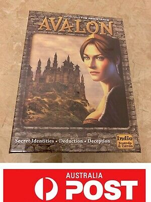 The Resistance: Avalon Board Game, Fantastic Game, AU Stock