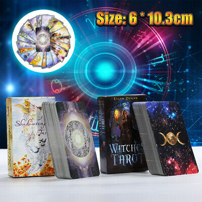 78Pcs Rider Waite Tarot Deck Cards Witches Fortune Future Telling Sealed Game V