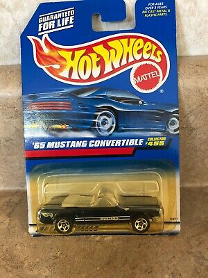 Hot Wheels 65 Mustang Convertible Ford Sp5/'s Blue #455 China 1998
