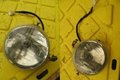 2009 Yamaha Rhino 700 FI, Pair of Head Lights Headlamps Headlights (OPS1076)