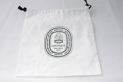 Diptyque cotton draw string gift bag NEW