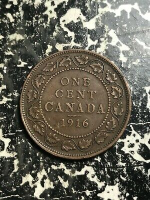 1916 Canada Large Cent Lot#L7082