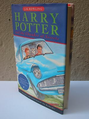 Harry Potter and The Chamber of Secrets First Edition First Printing