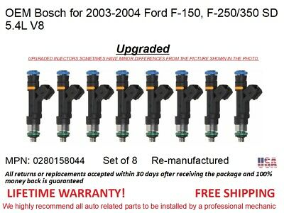 1 Fuel Injector OEM Bosch for 2003-2004 Ford F-150 5.4L V8  #0280158044