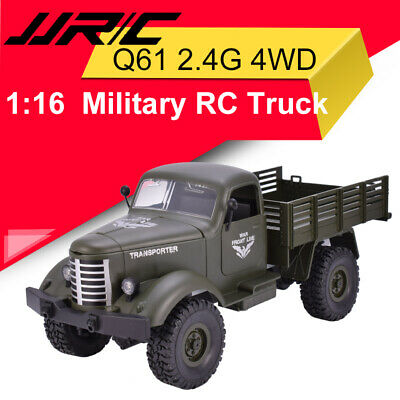 JJRC Q61 1:16  RC Off-Road Machine Drive Tracked Military RC Truck 2.4G 4WD
