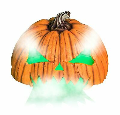 "Jack-o'-Lantern Fog Machine Cover, Halloween Decorations, 20 3/4"" x 20"" x 13"""