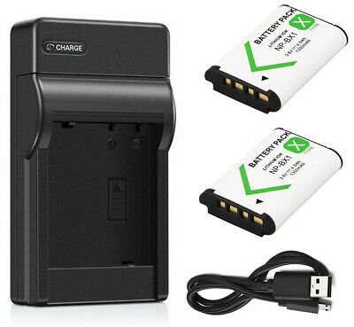 Battery+Charger For Sony FDR-X1000V,FDR-X1000VR, FDR-X3000,FDR-X3000R Action Cam