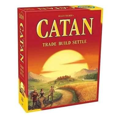 The Settlers of Catan 5th Edition Board Game Party School Holiday Game