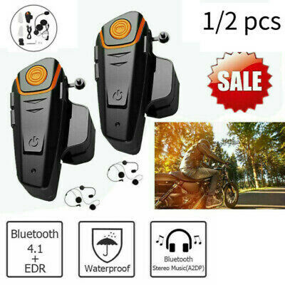 Bluetooth Helmet Headset Speaker Headphone for Motorcycle Motorbike Handsfre