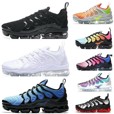 Womens Mens TN Vapor Running Shoes Air Cushion VM Metallic Trainer Sneaker