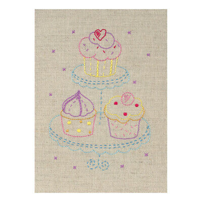ANCHOR | Embroidery Starter Kit: Cupcake - Beginners | PE704