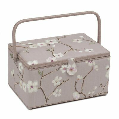 Blossom Extra Large Sewing Box | 20 x 39 x 26cm | HobbyGift HGXL-453