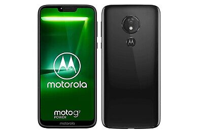 Motorola Moto G7 Power 64GB Sim Free / Unlocked Mobile Phone - Black