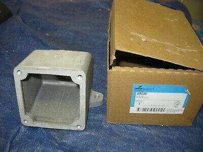 "Crouse Hinds ARE56 Back Box 1 1/2"" New old stock"