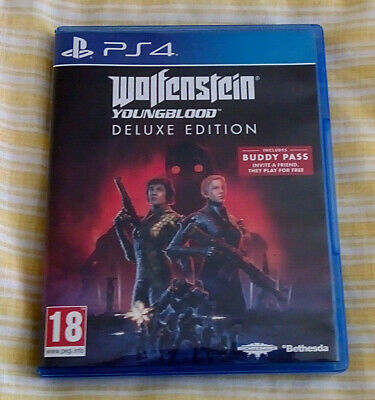 Wolfenstein Youngblood Deluxe Edition for Sony Playstation 4 (PS4)