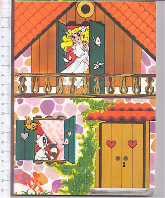 CANDY CANDY Kyandi 1981 Fabbri italy school notebook - quaderno scuola