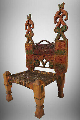 Antique Wedding Chair Afghanistan Nuristan Antik Afghan Stuhl swat valley 19/A