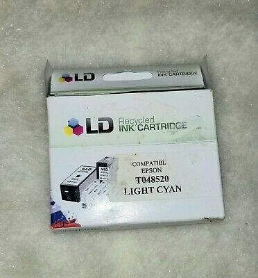 Ld recycled ink cartridge Epson T048520 Light Cyan