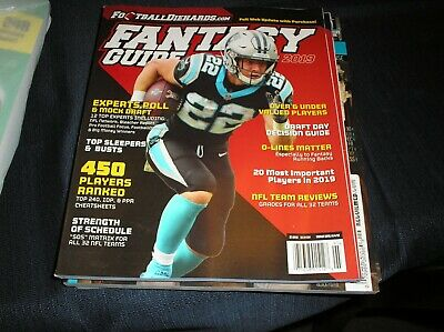 FOOTBALL DIEHARDS 2019 Fantasy Football GUIDE  magazine 112 pages  450 + players