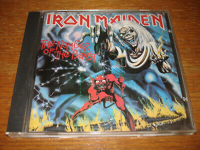 IRON MAIDEN CD, Live After Death, Orig 1985 Capitol, CDP 7