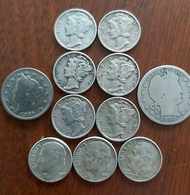 Package of US silver coins