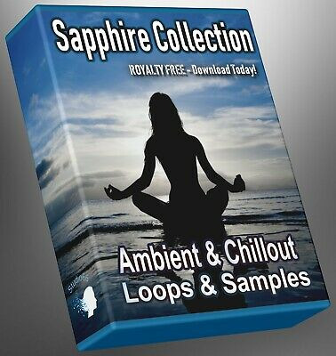 Ambient and Chillout Loops Sapphire Collection Part 1 Ableton Logic FLStudio WAV