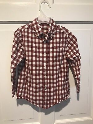 Euc Pre-Owned Toddler Boys Crewcuts  Long Sleeve Shirt~ Size 3