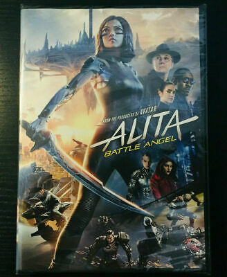 Alita: Battle Angel (DVD,2019) BRAND NEW - FREE SHIPPING TO THE US!!!