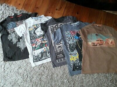Selection Of Boys T Shirts Age 13-14 All EXCELLENT CONDITION