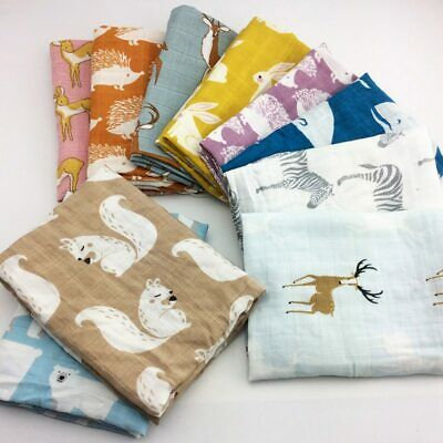 new Cotton Baby Blankets Newborn Soft Organic Cotton Baby Blanket Muslin