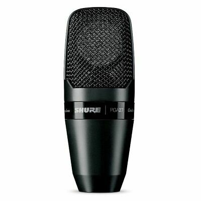 Shure PGA27 LC Large Diaphragm Side Address Cardioid Condenser Microphone