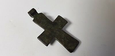 BYZANTINE BRONZE CROSS 10th-12th century AD