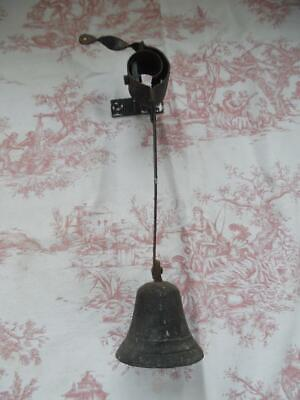 SHABBY CHIC ANTIQUE FRENCH GARDEN-DOOR-SHOP BELL -Very Downton Abbey!