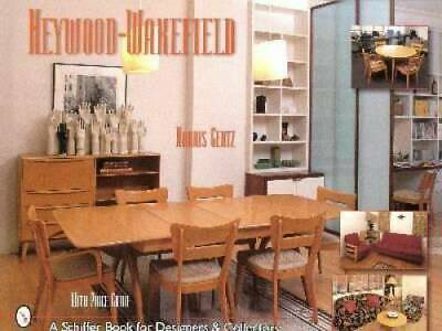 1950s Heywood Wakefield Furniture Book Table Chairs Etc