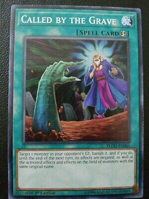Yu-Gi-Oh! Called by the Grave -FLOD-EN065- Common - 1st Edition NM!