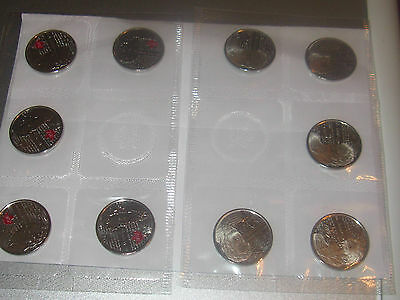 Canada War Of 1812 Salaberry 10 Quarters Pack RCM Plain And Red Mint Set.