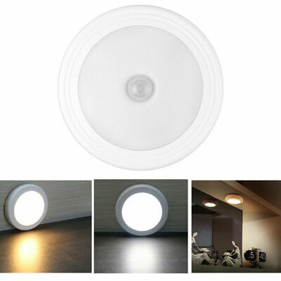 6 LED Light PIR Motion Sensor Infrared Wireless Battery Power Under Cabinet Lamp