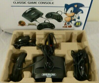Sega Genesis Classic 81 in 1 Game Console With Two Controllers - Mortal Combat