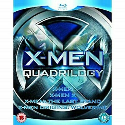 New!!  X-Men Quadrilogy Blu Ray Xmen 1, 2, 3, Wolverine
